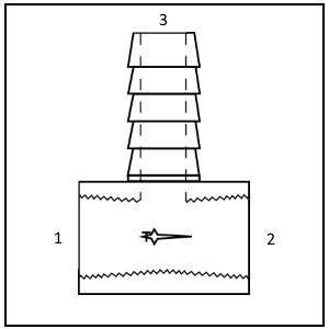 0124 brass tee_hose stem