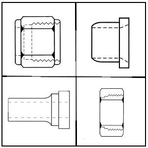 Hydraulic Pipe External Spud/Sleeves